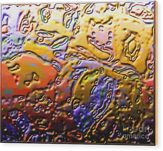 0365 Abstract Thought Wood Print