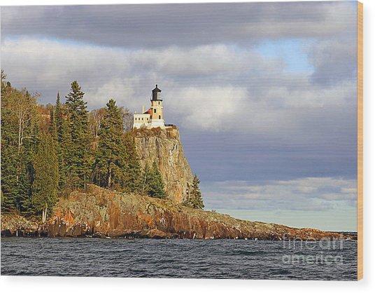 0376 Split Rock Lighthouse Wood Print