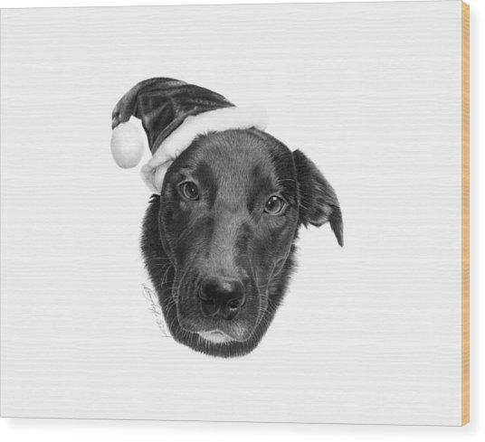 039 - 2014 Emmie Christmas Wood Print
