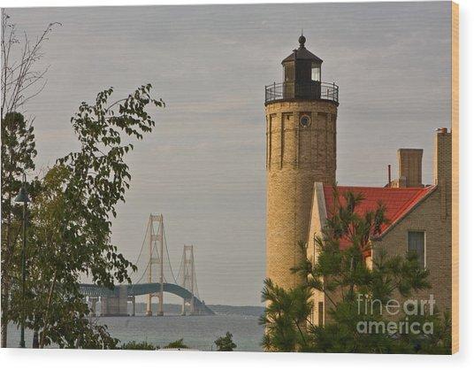 0558 Old Mackinac Point Lighthouse Wood Print