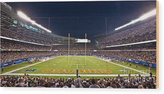 0587 Soldier Field Chicago Wood Print