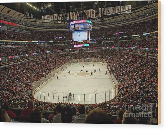 0616 The United Center - Chicago Wood Print