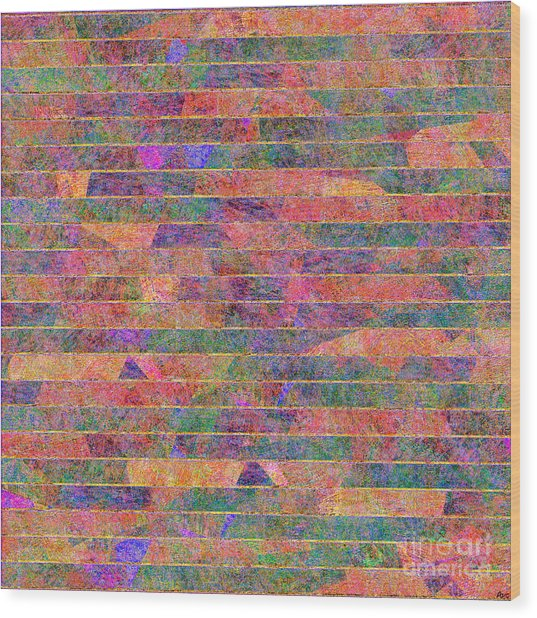 0310 Abstract Thought Wood Print
