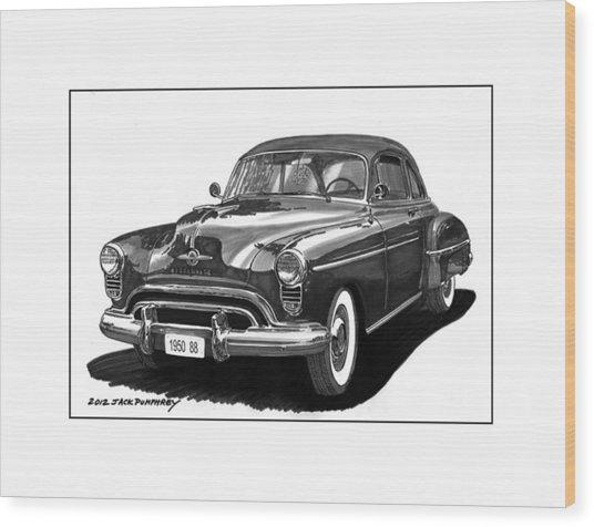 1950 Oldsmobile Rocket 88 Wood Print