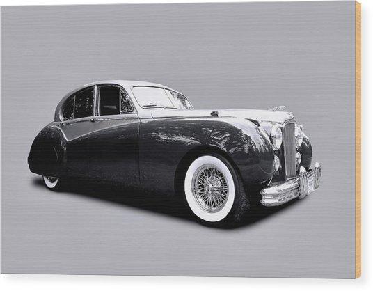 1953 Jaguar Mk Vii  Wood Print