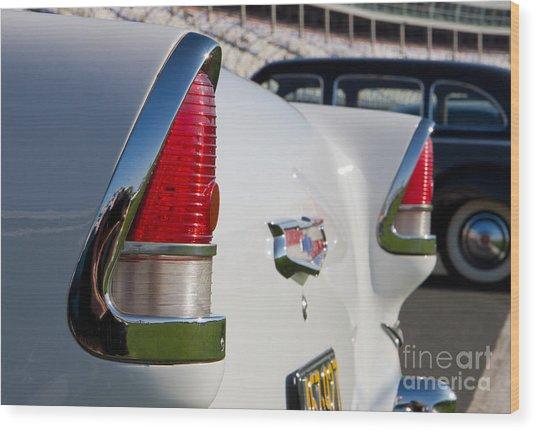 1955 Chevy Bel Air Wood Print
