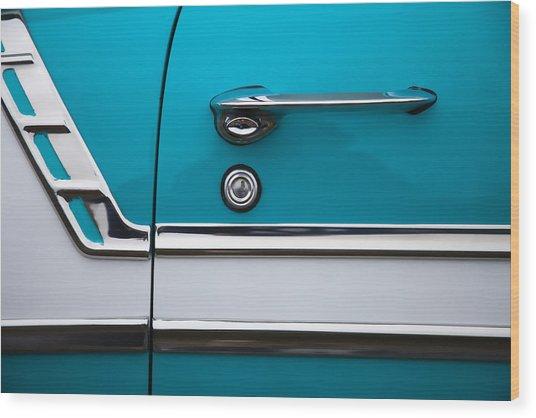 1956 Chevrolet Bel Air Wood Print