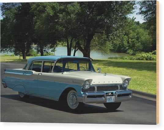 1957 Mercury Monterey Wood Print