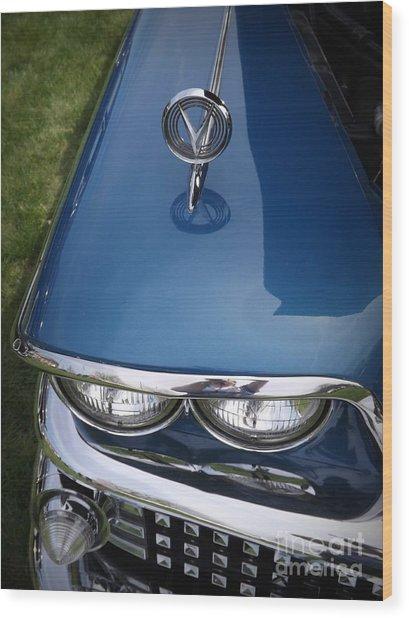 1958 Buick Super 56r Wood Print