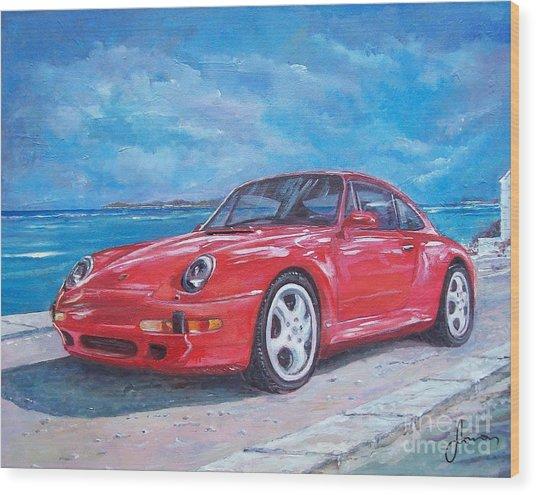 1997 Porsche Carrera S Wood Print