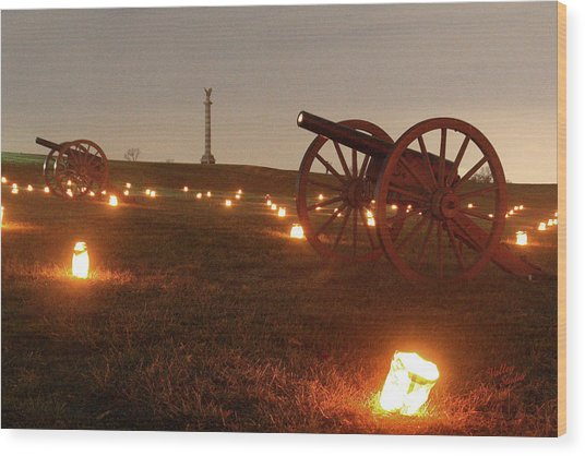 2013 Antietam - Cannon Wood Print