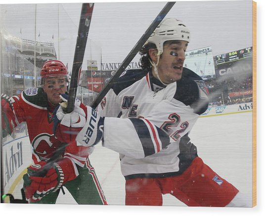 2014 Coors Light Nhl Stadium Series - Wood Print
