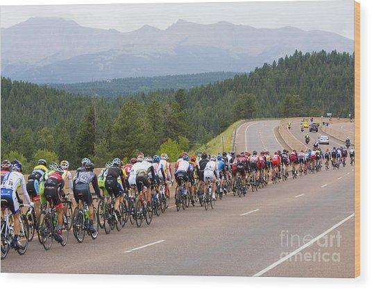 2014 Usa Pro Cycling Challenge Wood Print