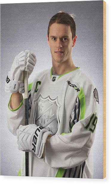 2015 Honda Nhl All-star Portraits Wood Print