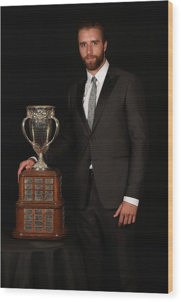 2015 Nhl Awards - Portraits Wood Print
