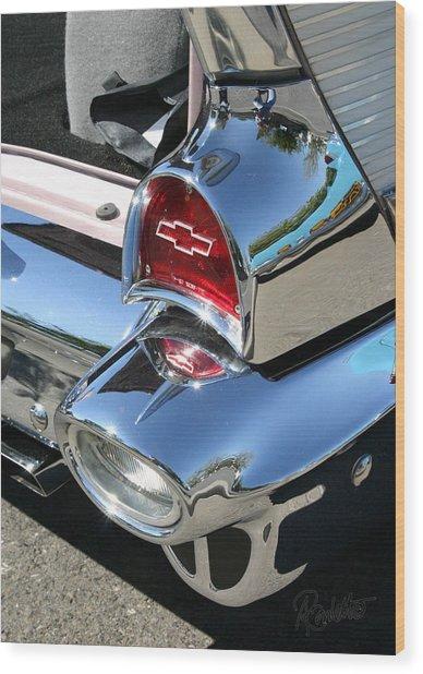 '57 Chevy Wood Print