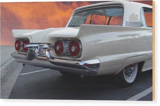 59 T-bird Wood Print