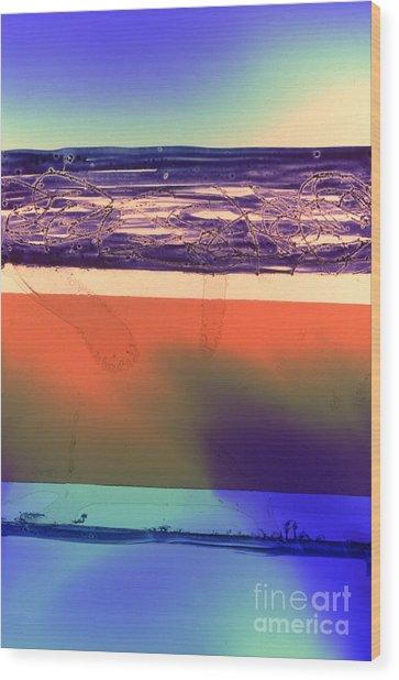 Abstrait3 Wood Print