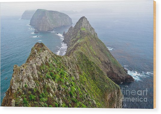 Anacapa Panorama Wood Print