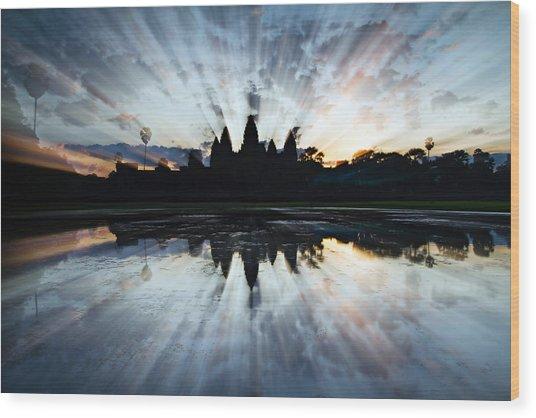 Angkor Wat Wood Print