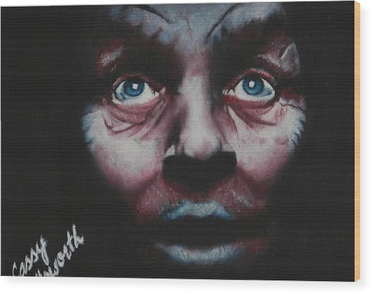 Anthony Hopkins Wood Print