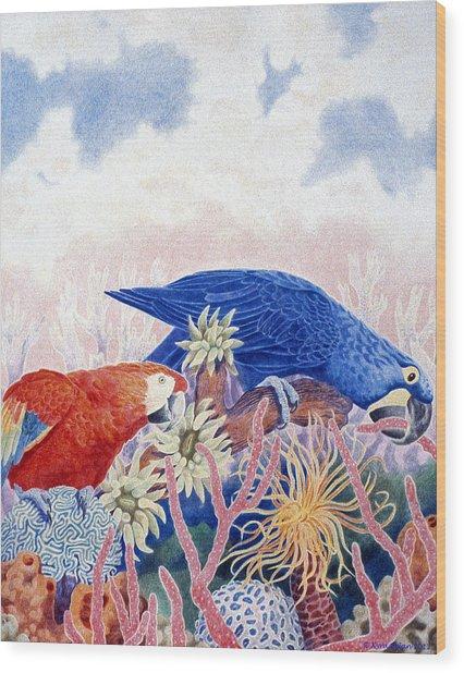Astarte's Paradise IIi Wood Print