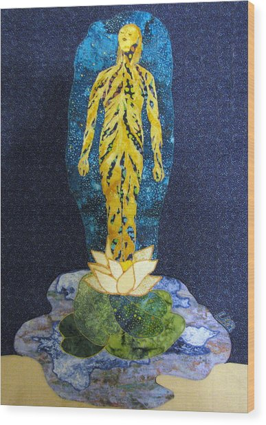Awakening Wood Print by Lynda K Boardman