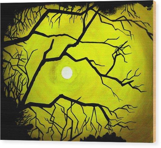 Badsun Wood Print