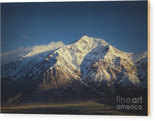 Ben Lomond Peak-utah Wood Print