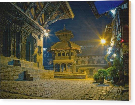 Bhaktapur City Of Devotees Artmif.lv Wood Print