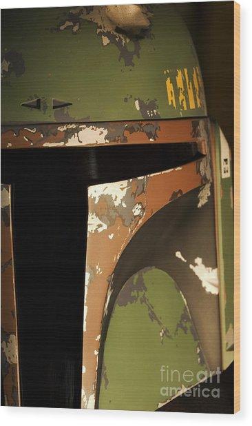 Boba Fett Wood Print