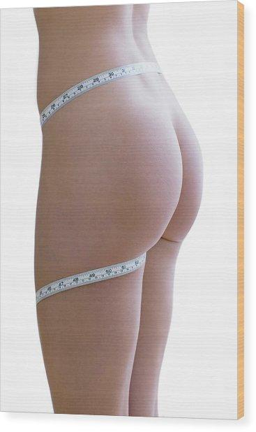 Body Image Wood Print by Ian Hooton/science Photo Library