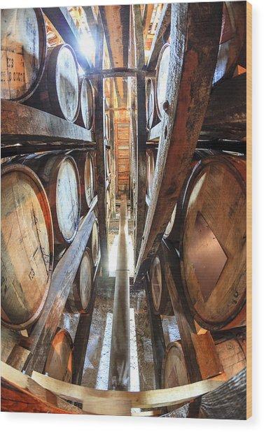 Bourbon Warehouse Wood Print