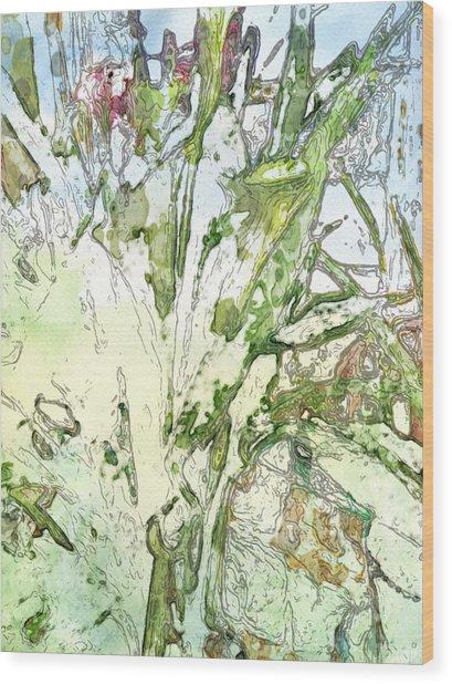 Callas Wood Print by Jennifer Woodworth