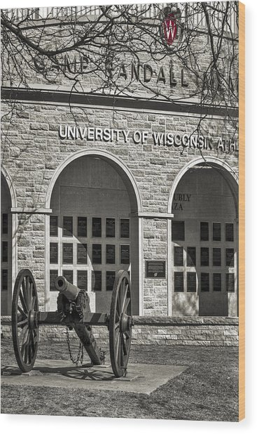 Camp Randall - Madison Wood Print