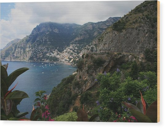 Capri Island Italy Wood Print