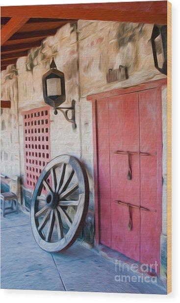 Castillo San Felipe De Barajas Fort II Wood Print