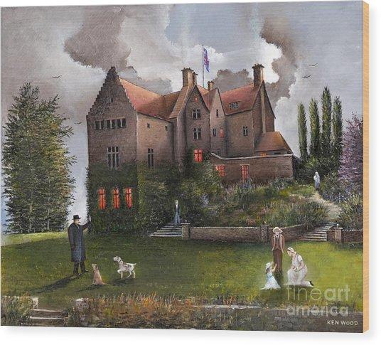 Chartwell Wood Print