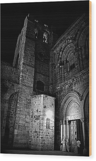 Church Of The Holy Sepulchre Wood Print by Amr Miqdadi