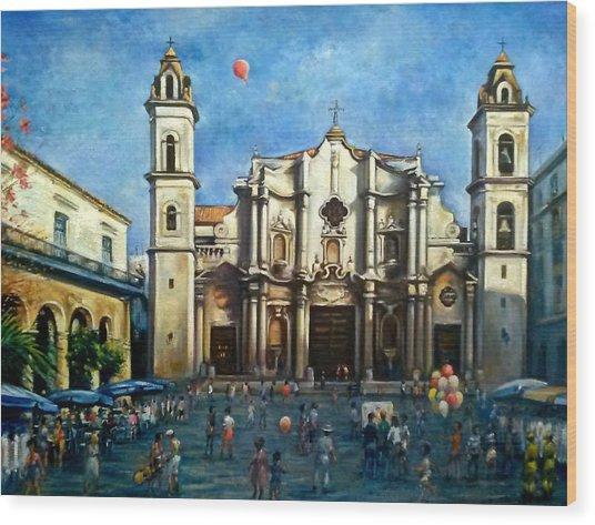 Church Square Havana Wood Print