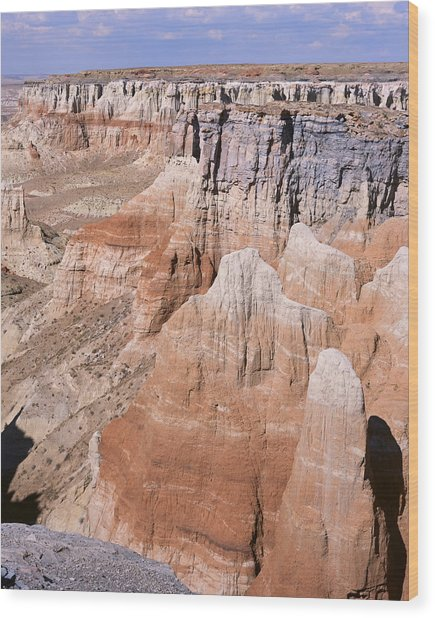 Coal Mine Canyon 1-v Wood Print