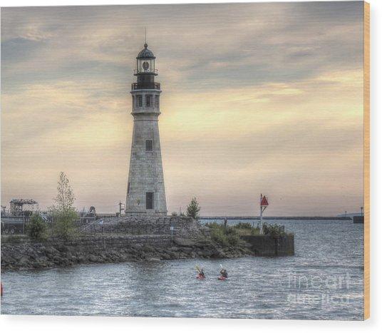 Coastguard Lighthouse Wood Print