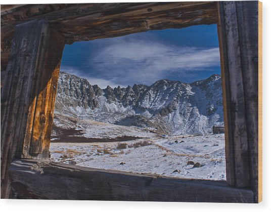 Colorado Mayflower Gulch Wood Print by Michael J Bauer