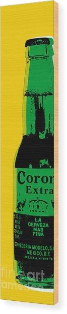 Corona Wood Print