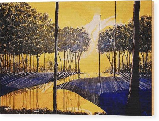 Dawn II Wood Print