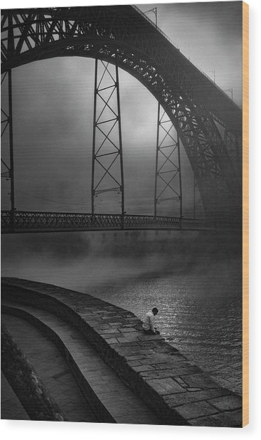 Dawn - My Mists ! Wood Print