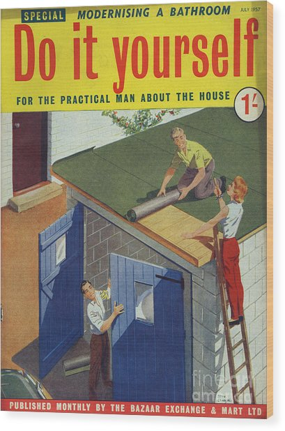 Do it yourself 1957 1950s uk diy drawing by the advertising archives do it yourself 1957 1950s uk diy wood print by the advertising archives solutioingenieria Image collections