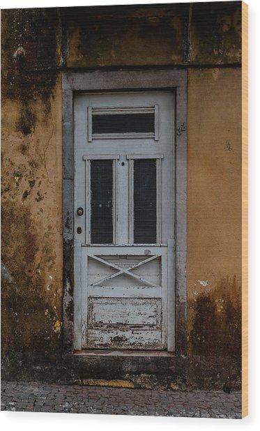 Door99 Wood Print