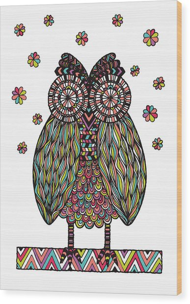 Dream Owl Wood Print
