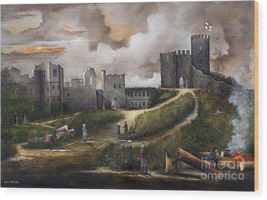Dudley Castle 2 Wood Print